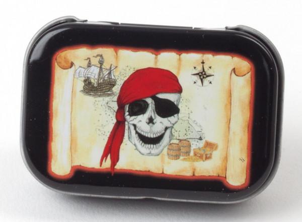 Minidose Piraten-Schatzkarte