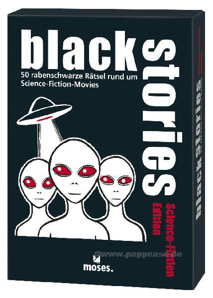 Black Stories Science Fiction Edition