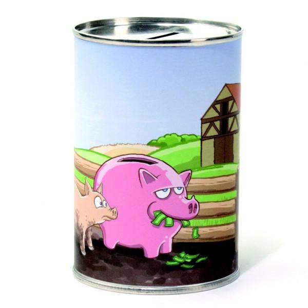 Schweinisch viel Geld-Kasse