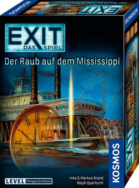 EXIT-Das Spiel - Der Raub auf dem Mississippi