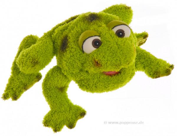 Handpuppe Frosch Kleiner Rolf Living Puppets