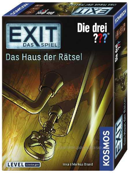 EXIT-Das Spiel - 3??? Haus der Rätsel