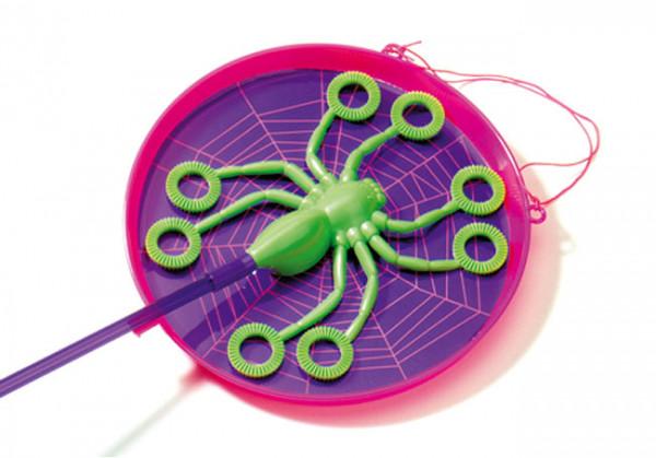 Seifenblasen-Spinne