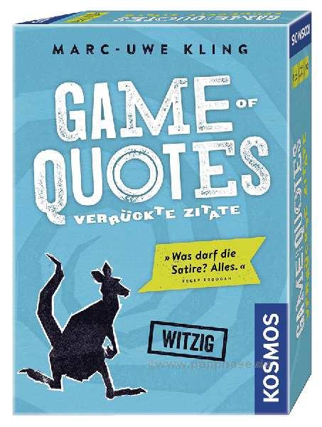 Game of Quotes Kartenspiel