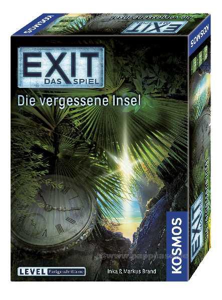 EXIT-Das Spiel - Die vergessene Insel