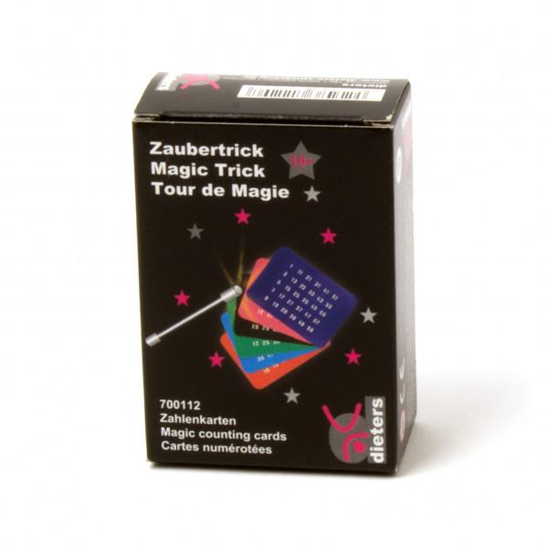 Zaubertrick Zahlenkarten