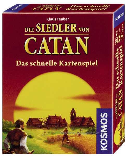 Catan - Karten-Mitbringspiel