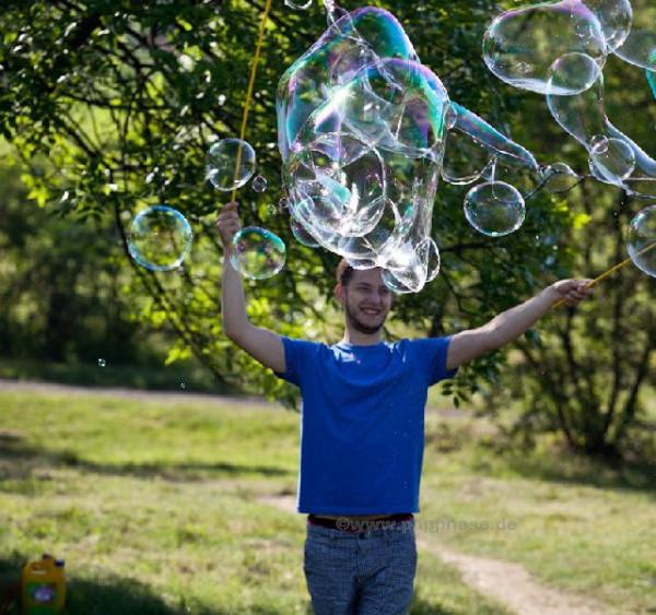 Grosse Seifenblasen-Wolken Pro