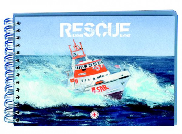 Album 18x13 RESCUE-Kreuzer am Tag