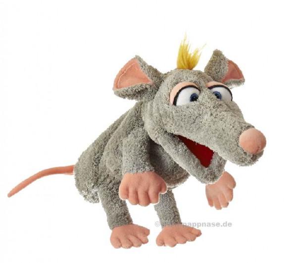 Handpuppe Schnurzpiepe, die Ratte