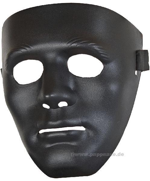 Neutralmaske schwarz