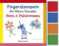 Fingerstempel für  kleine Künstler -Feen + Fabelwesen
