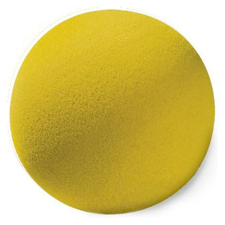 Schaumstoff-Ball gelb, 15 cm ø