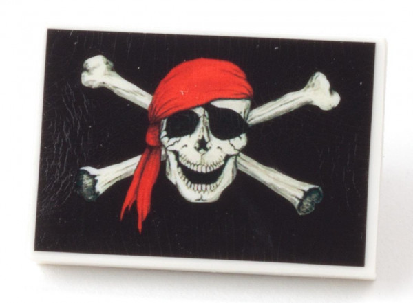 Radierer Piratenflagge