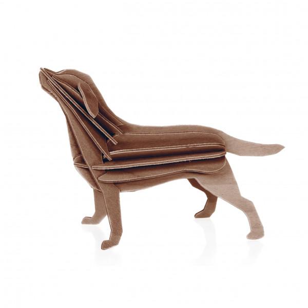 Lovi Holzfigur Hund