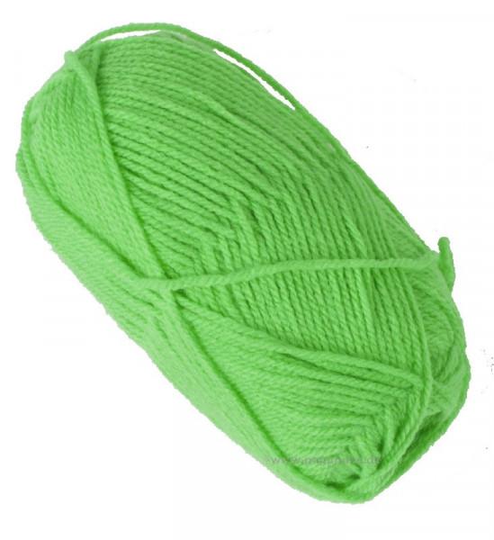 Neon-Wolle - neon-grün, 50 g