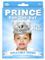 Prince for the Day - Aufblaskrone