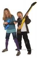 Aufblas-Gitarre - Luftgitarre
